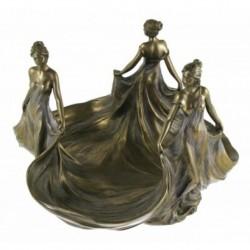Secesyjna patera - trzy Lady Veronese AN10399A4