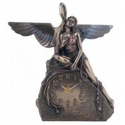 Zegar Lady z łabędziem Veronese WU74849A4