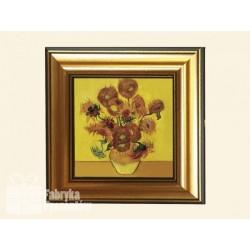 Obrazek Słoneczniki - Van Gogh 33x33cm CARMANI