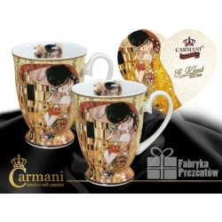 "Kubki w sercu ""Pocałunek"" Gustav Klimt - Carmani 532-0801"