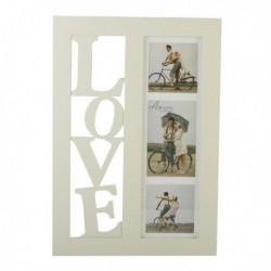 Duża ramka LOVE na 3 zdjęcia
