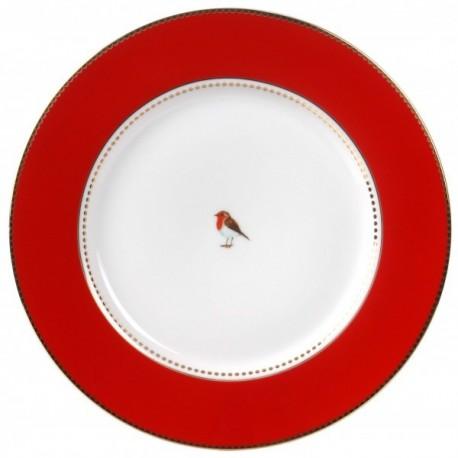 Talerz 21cm Pip Studio Love Birds Red 51.001.025