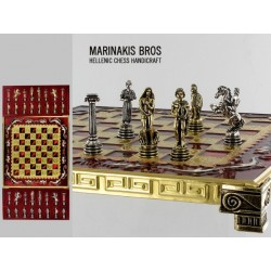 Szachy Marinakis TROJAN WAR CHESS SET 086-2111
