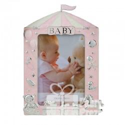 Ramka BABY różowa 473-3234
