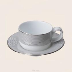 VALENTINO Filiżanka do herbaty 200 ml ze spodkiem