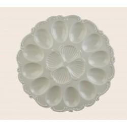 CLARA Talerz 27,5 cm do jajek/Villa Italia