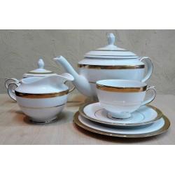 Zestaw do herbaty dla 12 osób Vienna Gold / Villa Italia