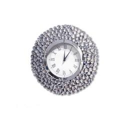 Zegar ścienny Ariano z KRYSZTAŁKAMI