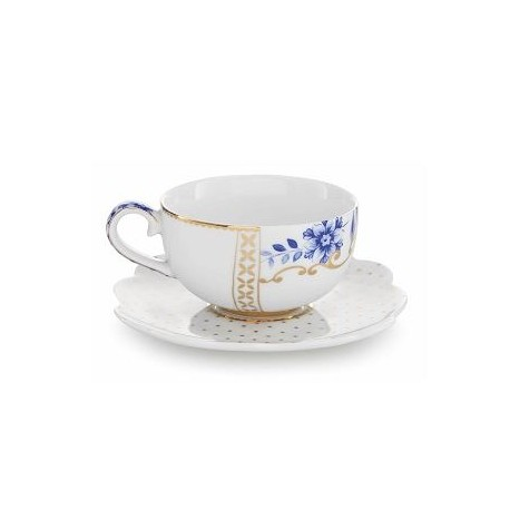 Filiżanka do espresso White Royal 125ml Pip Studio 51004036