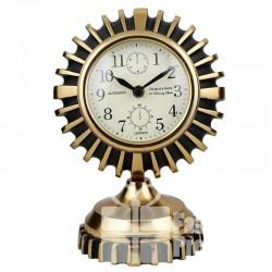 Zegarek Gold Line - oprawa w kształcie słońca