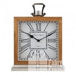 Zegar stołowy drewno C550037