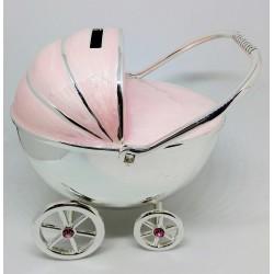 JEŻDŻĄCY wózek różowy - SKARBONKA 473-3264