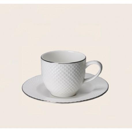 Filiżanka do espresso BARI PLATIN 100 ml/ Villa Italia