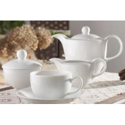 Serwis kawowy  Biała koronka dla 12 osób / WAZA