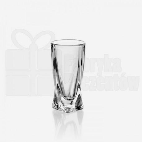 Kieliszki do wódki lub likieru Quadro - 6szt. /Bohemia 666635