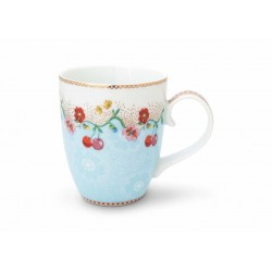 Duży kubek Cherry Blue FLORAL 350ml /Pip Studio 51002139