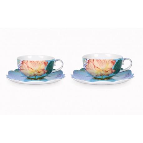Komplet 2 filiżanek Royal flowers Pip Studio 51.004.071