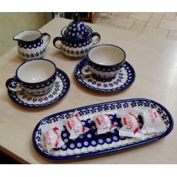 Zestaw kawowy Bolesławiec dla 6 osób