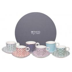Zestaw Espresso - Geo Eclectic Set/ TOKYO 14886