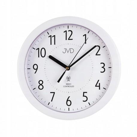 Zegar JVD RH612.8- sterowany radiem, drewnopodobny