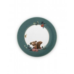 Talerz 17 cm Pip Studio Love Birds Blue, Khaki 51.001.239