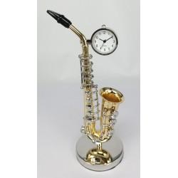 Mini saksofon z zegarkiem 210-6031